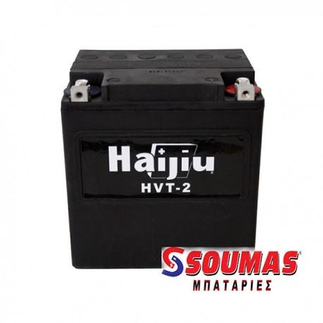 ΜΠΑΤΑΡΙΑ ΜΟΤΟΣΥΚΛΕΤΩΝ HAIJIU HVT-2 HARLEY GEL ( HTX30 ) (12V 30AH)